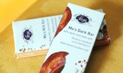 Vosges bacon chocolate bars, sold at Au Marche in large or mini size (pictured).