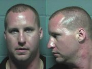 Chad Bauman jail mugshot.