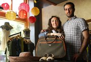 Courtney Ricketts and her husband Suleyman Vardar, owners of Nomads at 725 Massachusetts St., have quite a bit of travel experience and tips for packing.