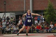 Baldwin's Katie Kehl won the Class 4A discus state championship on Friday in Wichita after a throw of 140 feet, 11 inches.