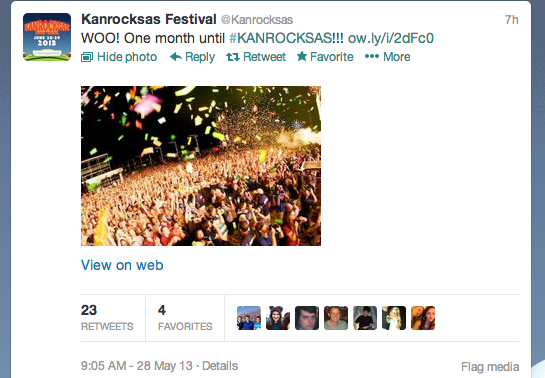 Screenshot of @Kanrocksas Twitter feed