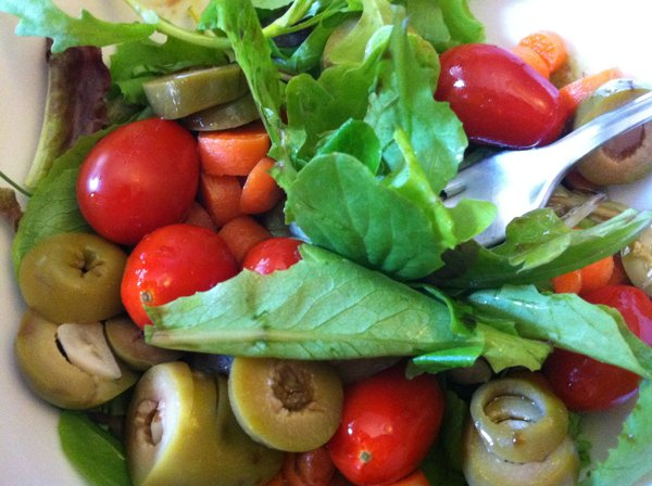 Tomatoes in a salad already?! Can you blame us.