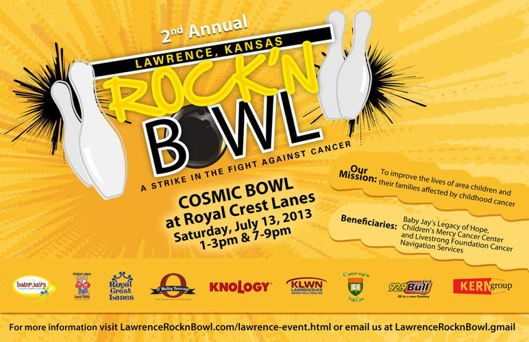 Rock'n Bowl flyer