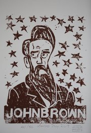 """John Brown"" by Matthew Brent Jackson, at Wonder Fair"