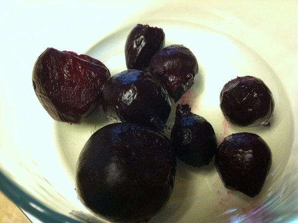 Pretty roasted beets.