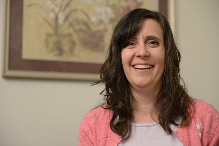 Karin Denes-Collar, a Bert Nash behavioral health consultant, is in her second year of working with clients and providers at Heartland Community Health Center.