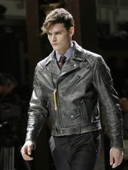 A model wears a Belstaff jacket Jan 18, 2009. A summer jacket — believe it or not — can be a lifesaver with the inconsistant weather conditions that come with living in Kansas.