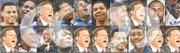 Some of the best quotes during the 10-year Bill Self era were uttered by the likes of, top row from left: Brandon Rush, Darnell Jackson, Self, Jeff Graves, Darrell Arthur, Marcus Morris, Markieff Morris, Self, Julian Wright and Quintrell Thomas; and, bottom row, from left, Self, Anrio Adams, Barry Hinson, Naadir Tharpe, Self, Self, Rush, Keith Langford, and two more from Self himself.
