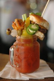 Bloomin' Bloody Mary at Dempsey's Burger Pub, 623 Vermont St.