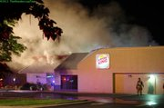 Fire crews responded to reports of a fire at the Burger King restaurant at 1107 W. 6th Street about 1:15 a.m., according to Lawrence-Douglas County Fire Medical officials. No injuries were reported.