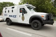 The Lawrence Police Department's new armored vehicle has arrived and is ready for use, police officials say. The city bought the bullet-proof vehicle, which is meant to rescue civilians and protect officers in armed confrontations, with a $152,500 Homeland Security grant the city won last year.
