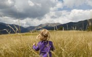 My daughter Olive walks through the Moraine Park meadow in Estes Park, Colo., while on our family vacation. On this walk I brought my professional gear because I wanted to control the depth of field and to narrow the focus of the image to her.