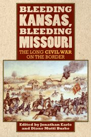 "A pair of professors — one from Missouri and one from Kansas — have teamed up on a new book featuring essays that set the tone for the time period surrounding Quantrill&squot;s raid, ""Bleeding Kansas, Bleeding Missouri: The Long Civil War on the Border."" The book is published by University Press of Kansas and edited by Diane Mutti Burke, associate professor of history at University of Missouri-Kansas City, and Jonathan Earle, associate professor of history at Kansas University."