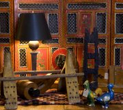 Primitive, industrial and ethnic elements are customer favorites at Mission Road Antique Mall