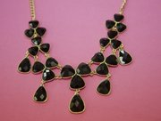 Black necklace statement piece from Envy