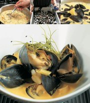"Heavenly Thai-Inspired Mussels, from ""The Flavorful Kitchen Cookbook."""