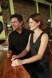 Robert and Molly Krause are pictured at Esquina in this 2010 Journal-World file photo.