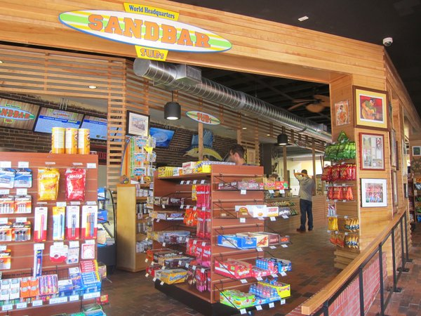 The newly opened Sandbar Sub Shop: 745 New Hampshire St., 785-842-0111, sandbarsubs.com