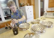 Volunteer Marg Hadl has been preparing the Sunday morning communion for Trinity Lutheran Church since the late '70s. Besides communion, Hadl fills other important roles at the church such as writing letters to the sick and bereaved.