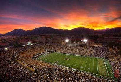 Colorado's Folsom Field.