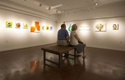 Artwork is displayed in Phoenix Gallery Underground during August's Final Fridays event.
