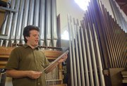 Father Robert Baldwin and his parishioners at Trinity Episcopal church, 1011 Vermont, are raising money to repair and purchase organ pipes.