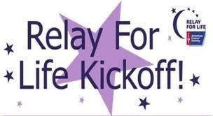 Relay For Life Kick-Off!