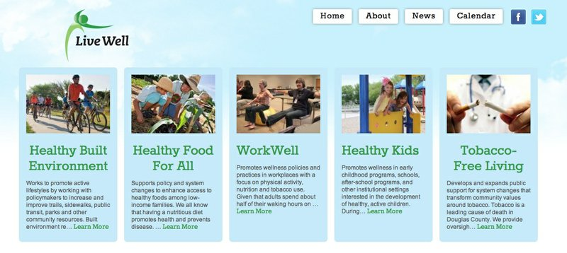LiveWell Lawrence's website has a new look!