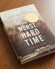 """The Worst Hard Time"" by Timothy Egan is this year&squot;s Read Across Lawrence choice."