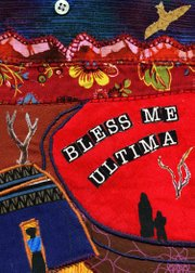 "Sunday&squot;s card, the first card in the series, is ""Bless Me, Ultima,"" by Rudolfo Anaya, banned for containing satanism, offensive language, violence, religious viewpoints and sexually explicit content. ARTIST: Mary Burchill. EXCERPT FROM ARTIST&squot;S STATEMENT: My husband and I have spent time in New Mexico as Park Rangers. We came to appreciate the varied cultures that thrive there. One is the Spanish/Mexican/Chicano population. Their acceptance of religion mixed with mysticism that speaks to them and makes their lives so rich is fascinating. This author captures all of that in his writings. I just recently started what is called ""art quilting."" The theme is from the cover when it was first published."
