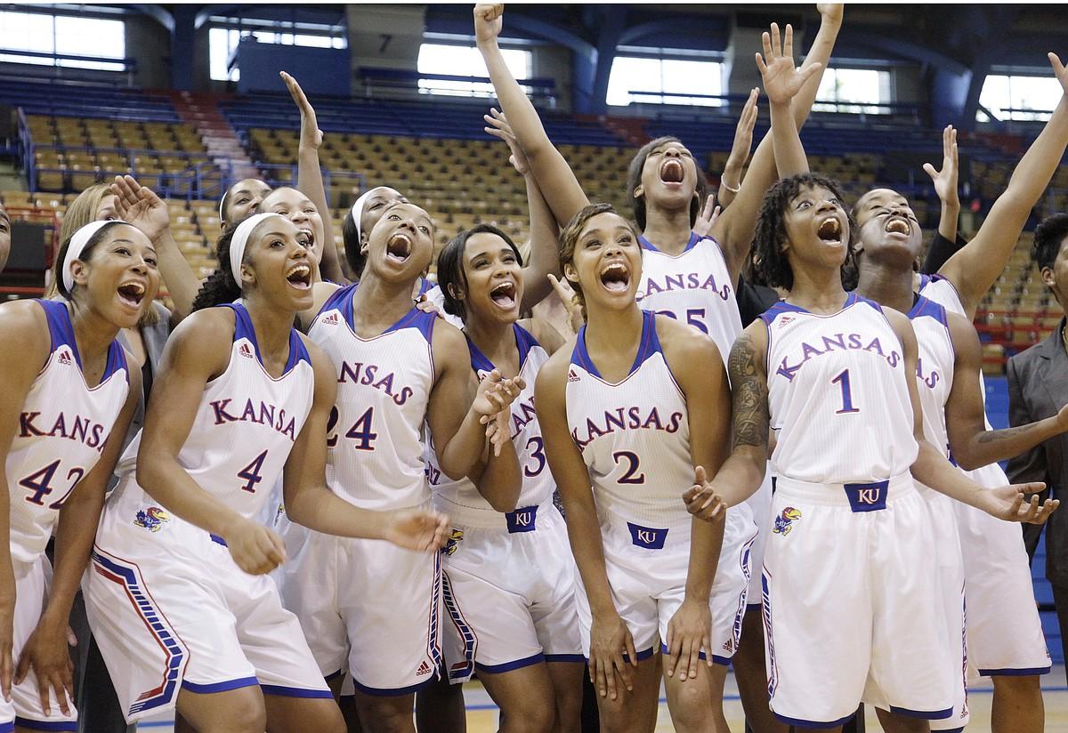 Kansas women basketball media day   KUsports.com