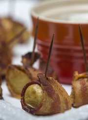 Megan Stuke's Spicy Bacon Wrapped Potato Bites