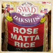 Rose matta rice at Cosmos Indian Store