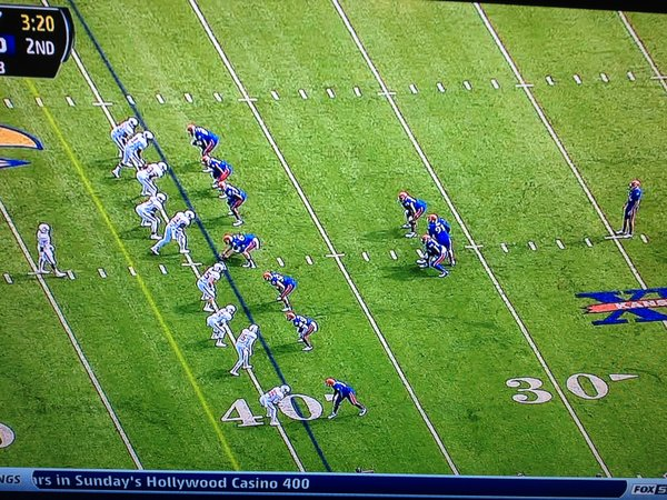 Later punt formation