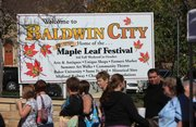 The Maple Leaf Festival comes to Baldwin City this Saturday and Sunday.