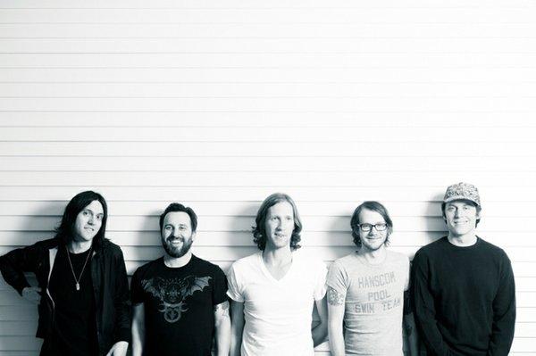 Omaha band Desaparecidos Photo-credit: Zach Hollowell