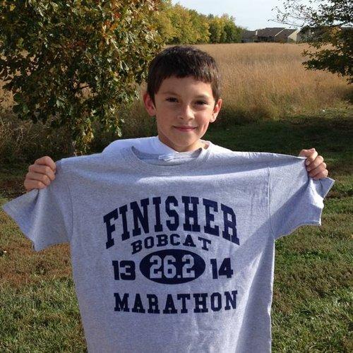 Terrific running, Tanner!