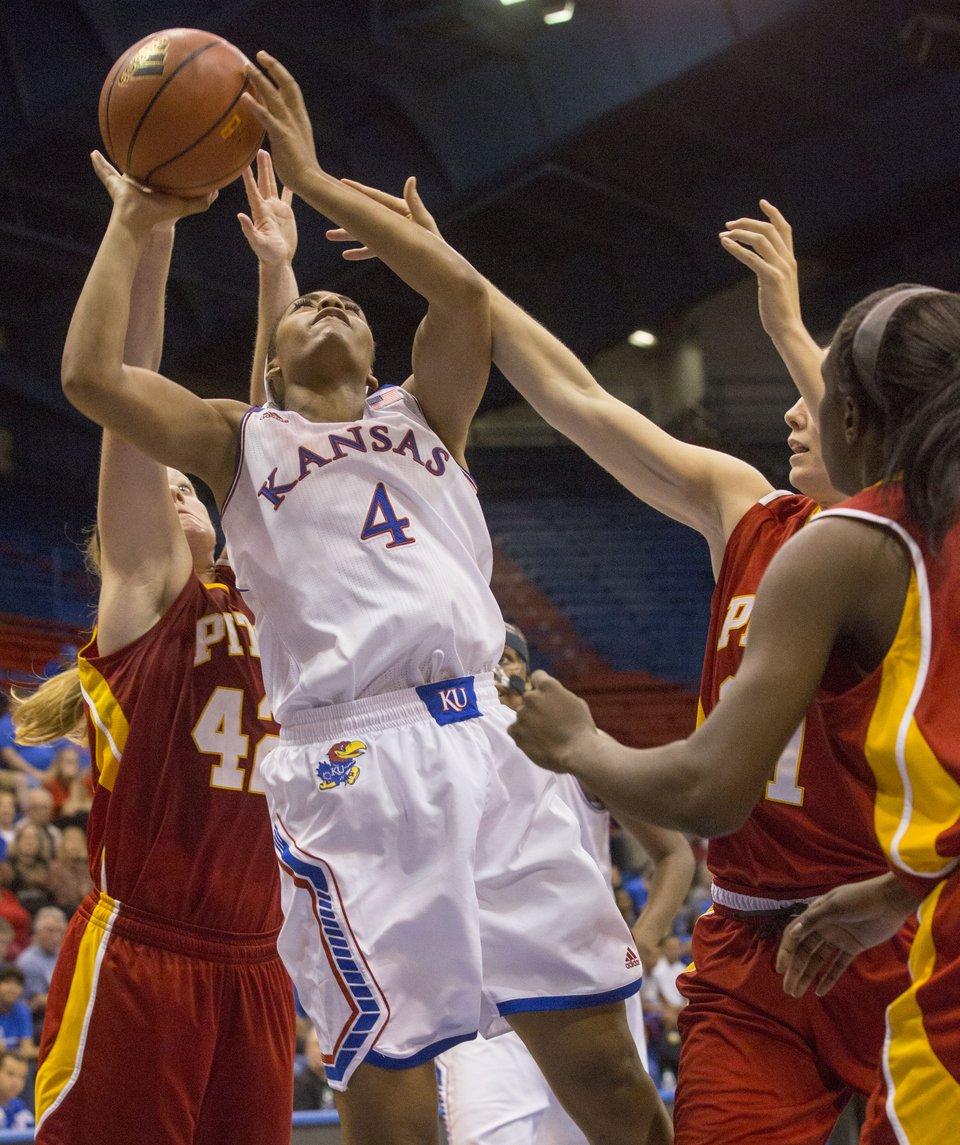 KU women's basketball vs. Pittsburg State   KUsports.com