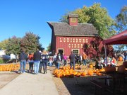 Louisburg Cider Mill is an ideal place to get in the mood for fall.