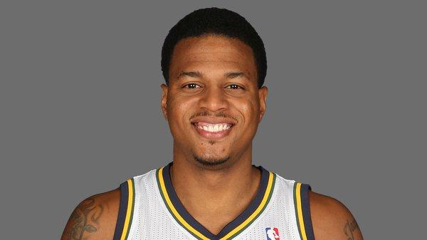Utah Jazz guard/forward Brandon Rush