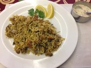 Chicken biryani at Cosmo's Indian Store and Cafe, 734 Massachusetts St.