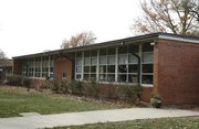 Sunset Hill Elementary School at 901 Schwarz Road, circa 1960.