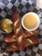 Bavarian Style Pretzels at Bird Dog Bar at the Oread
