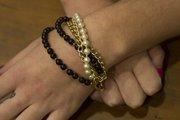 14k gold-plated bracelet