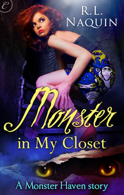 "Cover of ""Monster in My Closet"" by Lawrence author R. L. Naquin. Naquin wrote this book in Nov. 2010 for National Novel Writing Month."