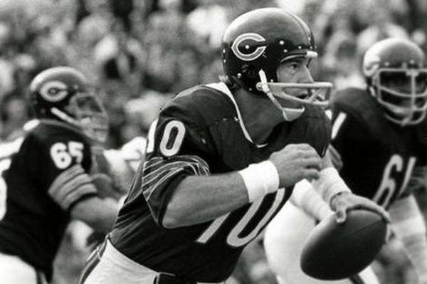 Former Chicago Bear and Kansas Jayhawk Bobby Douglass.