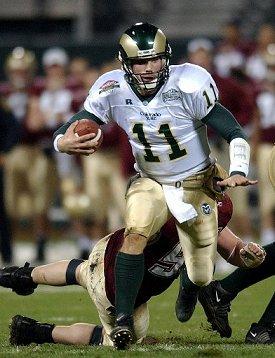 Former Colorado State star Bradlee Van Pelt.