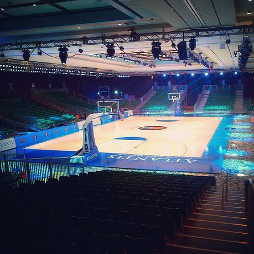 A look at the court for this week's Battle 4 Atlantis, courtesy collegesportstown.com