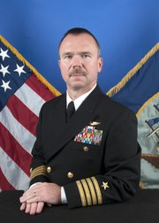 U.S. Navy Capt. Sean Bailey.