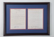"Copy of the ""Rules of Basketball,"" from Framewoods Gallery, 819 Massachusetts St."